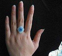 可爱精致的水晶小戒指编法 手工串珠入门教程