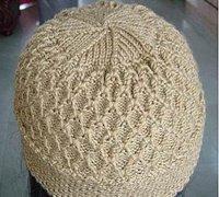 一款简单的帽子的编织方法 毛线编织教程