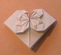 折纸心的折法 折纸心折纸教程