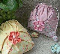 漂亮的布艺化妆包制作方法 布艺化妆包diy教程