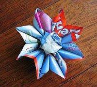太阳花的手工折纸 太阳花的折纸方法