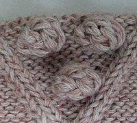 毛衣上的小球如何编织 玉米长长针编织图解