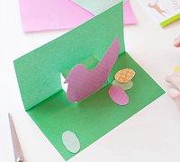 简单的漂亮礼物贺卡手工制作方法