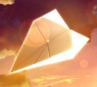 纸飞机的折法 纸飞机手工折纸教程(一)