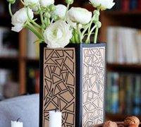 装点艺术生活 硬纸板DIY手绘创意装饰花瓶教程