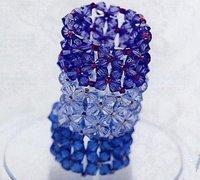 成熟而又可爱的串珠饰品 算珠魅力串珠戒指