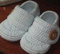 温暖漂亮的宝宝鞋手工编织教程