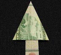 http://www.63diy.com用钞票折叠圣诞树 钞票折纸方法