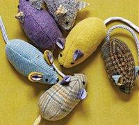 逼真的布艺老鼠制作 玩具小老鼠diy教程
