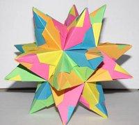 立体折纸星星的折法 纸星星折纸图解