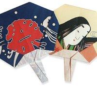 日本风格的折纸扇 扇子的折法