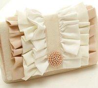 精美复古的韩版小香风手拿包 手工布包制作教程