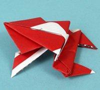 http://www.63diy.com纸青蛙的折法 动物折纸教程