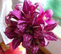 折纸百合花的折法 纸花制作教程