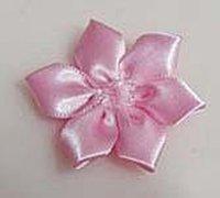 丝带装饰花的手工制作方法 丝带花制作教程