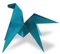 可爱的马折纸方法图解 动物折纸教程