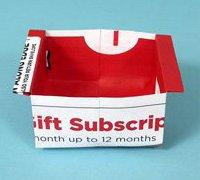 一次性果壳筐的折叠方法 简单的收纳盒折法