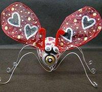 灯泡的变废为宝 旧灯泡diy可爱的昆虫