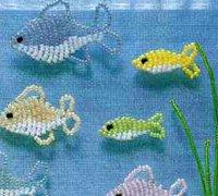 动物串珠教程 营造精彩的水下世界