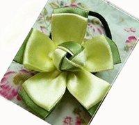 一款精美的丝带花发饰的手工制作教程
