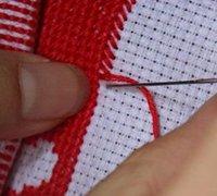 防止十字绣的绣线扭绞与打结的5种方法