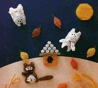 小动物的串珠乐园 编织一段美好的童话