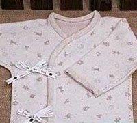 手工布艺宝宝衣服的做法图解