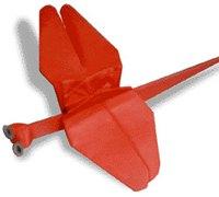 蜻蜓的折法 昆虫折纸图解