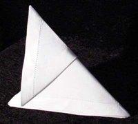 用餐巾折叠幻灯片 餐巾折叠艺术