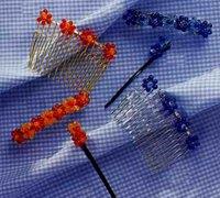 几款很漂亮的手工串珠发饰的diy教程(一)