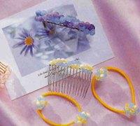 几款很漂亮的手工串珠发饰的diy教程(二)