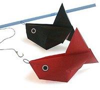 小鱼的折法 动物折纸教程