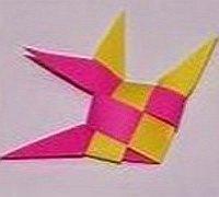 彩纸条编神仙鱼 热带鱼折纸手工教程