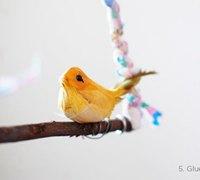 简单的鸟儿挂件家居装饰 为鸟儿安个漂亮的新家