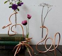 创意无极限 玻璃试管变身艺术花瓶