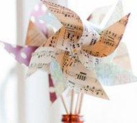 记忆中小风车的手工diy 重温童年的快乐