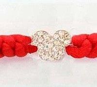 金刚结红绳手链的编法 (附金刚结的编法)