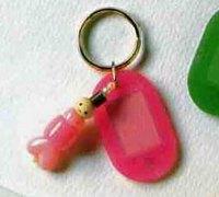 串珠钥匙扣diy图解 手工串珠饰品