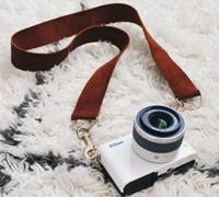 手工制作一款质感上档次的真皮相机背带