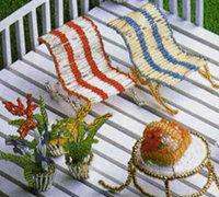 一些可爱漂亮的串珠装饰品diy图解