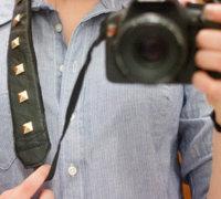 一款酷酷的真皮创意相机背带的制作方法