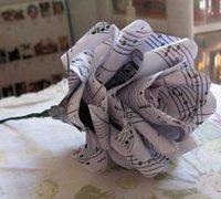 纸花制作 超简单的纸玫瑰手工制作方法