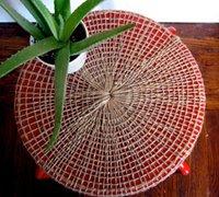 旧凳子改造个性的创意花架图片教程