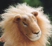 狮子诞生记 羊毛毡狮子头的过程图及大体做法