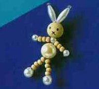 可爱的小动物手工串珠饰品DIY图解