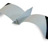 折纸海鸥的折法 动物折纸教程