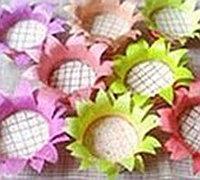 一次性纸杯diy太阳花 向日葵纸杯手工制作