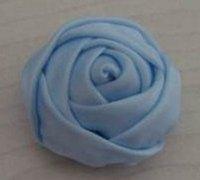 缎带diy超级实用的布艺玫瑰花朵