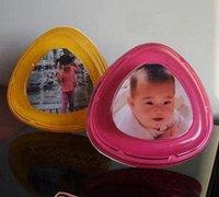 酸奶盒盖DIY宝宝小相框 酸奶盒变废为宝