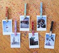 木夹华丽大变身 晾衣木夹DIY创意相片墙